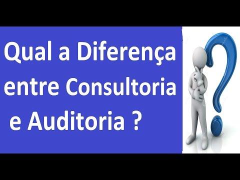 🔴 Qual a Diferença entre Consultoria e Auditoria ?