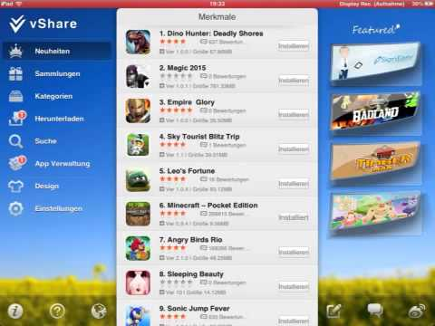 Alle apps gratis downloaden ohne jailbreak (german/english)