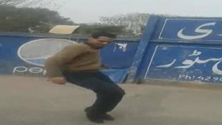 Junaid Kurd Best Dance at Bhangara Pa - At Askari Colony 1 Shops