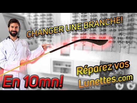 👴Tuto l Opticien  08 👓Réparation Changement branches de lunettes de  marque RB😍👀🤗. Les Tutos Opticiens de Reparez vos lunettes 8dfa37162758