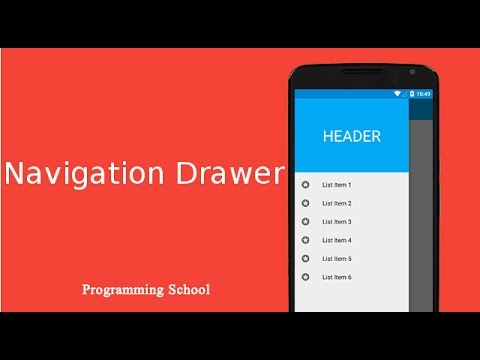 Bangla Android Tutorial 27: Navigation Drawer