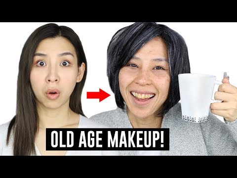 Old Age Makeup Transformation!