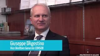 Spazio alle istituzioni: intervista a Giuseppe D'Agostino - CONSOB (Milano)