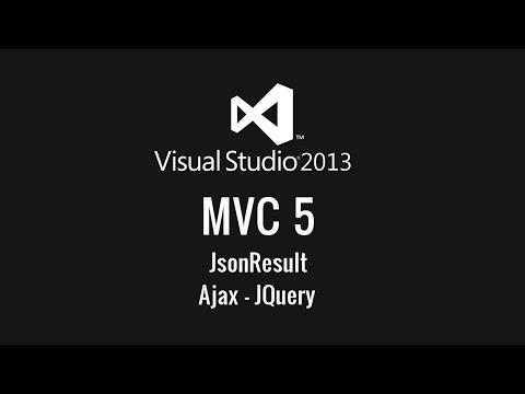 ASP.NET MVC 5 JsonResult & Ajax - MVC Dersleri