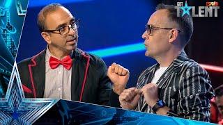 RISTO, como nunca lo habías visto junto a este PECULIAR MAGO | Audiciones 8 | Got Talent España 2021