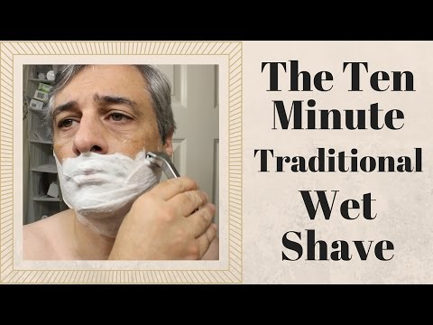 Learn the Economical Art of Wet Shaving