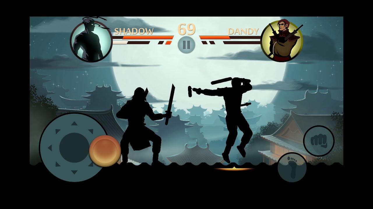 Shadow Fight 2 : Lynx - Last Bodyguard Fight HD ( Lone Beast Achievement ) фотки