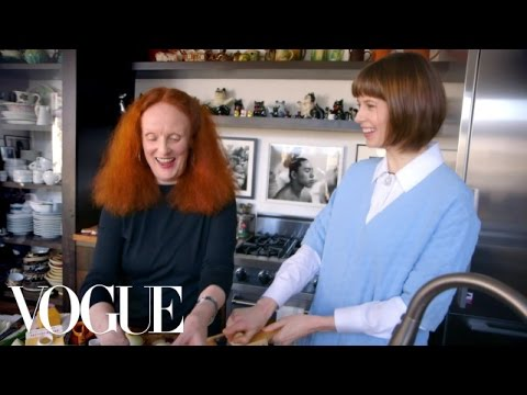 How to Make Steak and Potatoes Dauphinois with Grace Coddington - Elettra's Goodness - Vogue