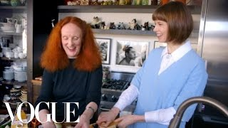 how to make steak and potatoes dauphinois with grace coddington elettra s goodness vogue