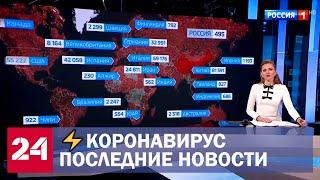 Коронавирус.Последние новости. Увеличение числа зараженных в России и мире.Испания на грани коллапса