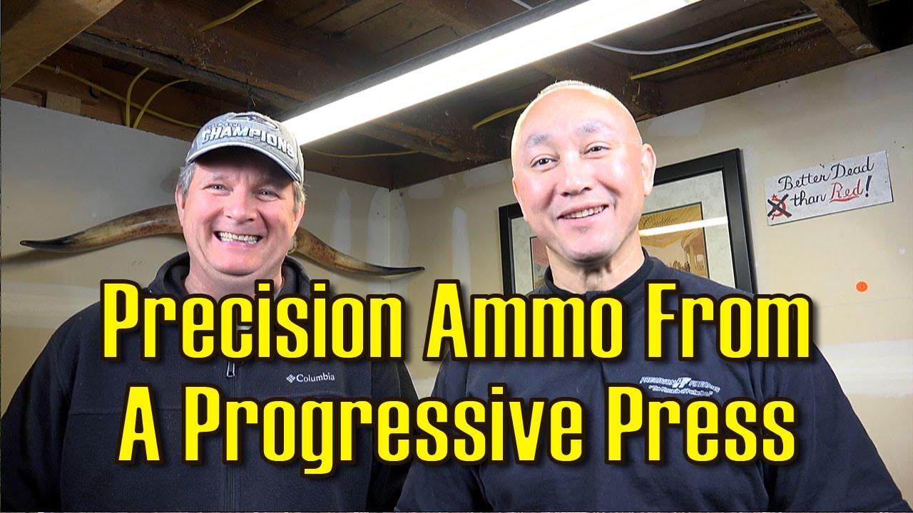 Precision from a Progressive Reloader