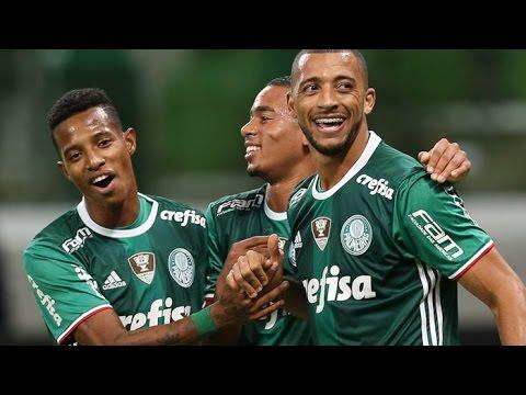 Palmeiras 4 x 3 Grêmio - GOLS - Brasileirão 2016 - 02/06/16