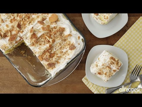 Dessert Recipes – How to Make Easy Banana Pudding Cake