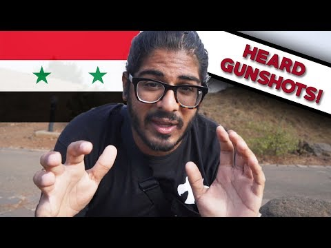 GOING TO SYRIA! (heard gunshots!) - Golan Heights