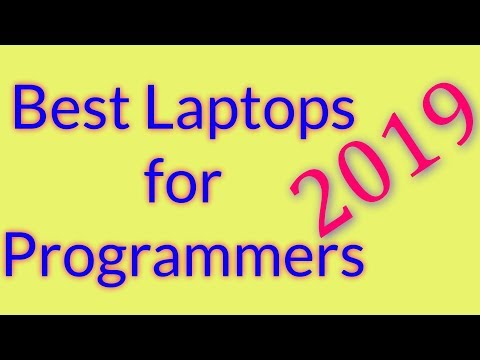 Best Laptops For Programming In 2019