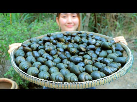 Yummy Snail Grilling Recipe – Snail Cooking – Cooking With Sros
