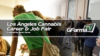 G FarmaTV covers the Los Angeles Cannabis Career & Job Fair presented by Bloom Farms