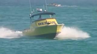 Gambar cover Newport Beach Lifeguard Beach Safety: Seawatch Rescue Boats