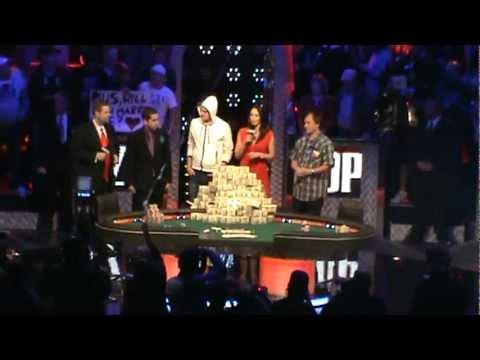 pius heinz after winning the 2011 WSOP main event