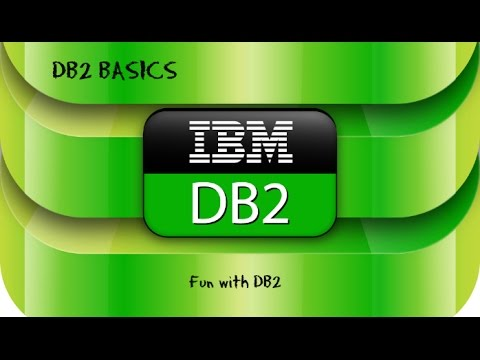 DB2 Basics Tutorial  Part 1