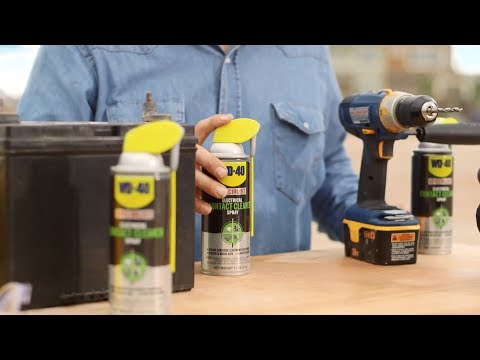 WD-40 How to Clean Electronics & Sensitive Electrical Components