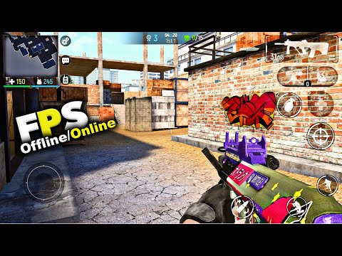 Top 10 Best FPS Games For Android/iOS 2019! (5-OFFLINE, 5-ONLINE)