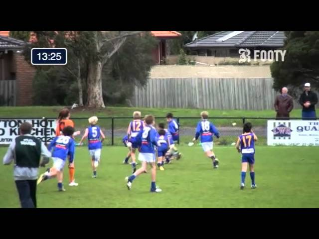 2013 SMJFL Grand Final Under 12 East - Beaumaris Sharks V Prahran Red
