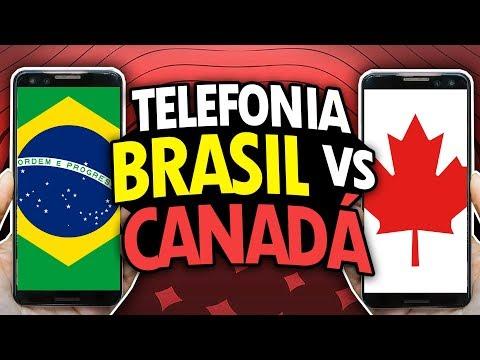 DIFERENÇAS NA TELEFONIA DO CANADÁ X BRASIL - TELEFONIA NO CANADÁ #2