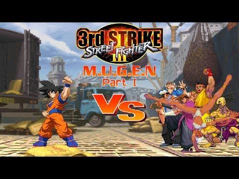 Goku Z2 VS Street Fighter III: 3rd Strike (200 Video Special!) [Part 1]