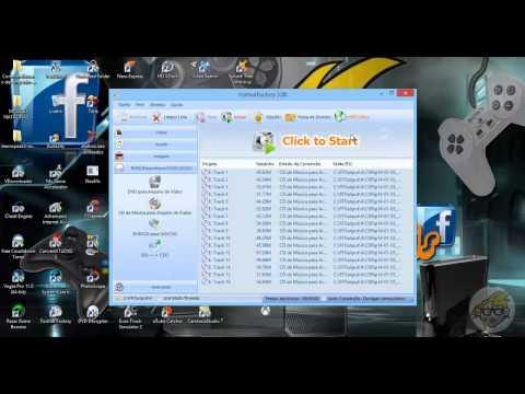 Como extrair musicas de 1kb do cd para o computador