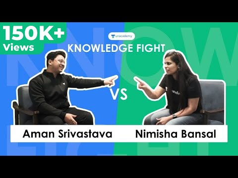 Knowledge Fight E02 - Aman Srivastava vs Nimisha Bansal