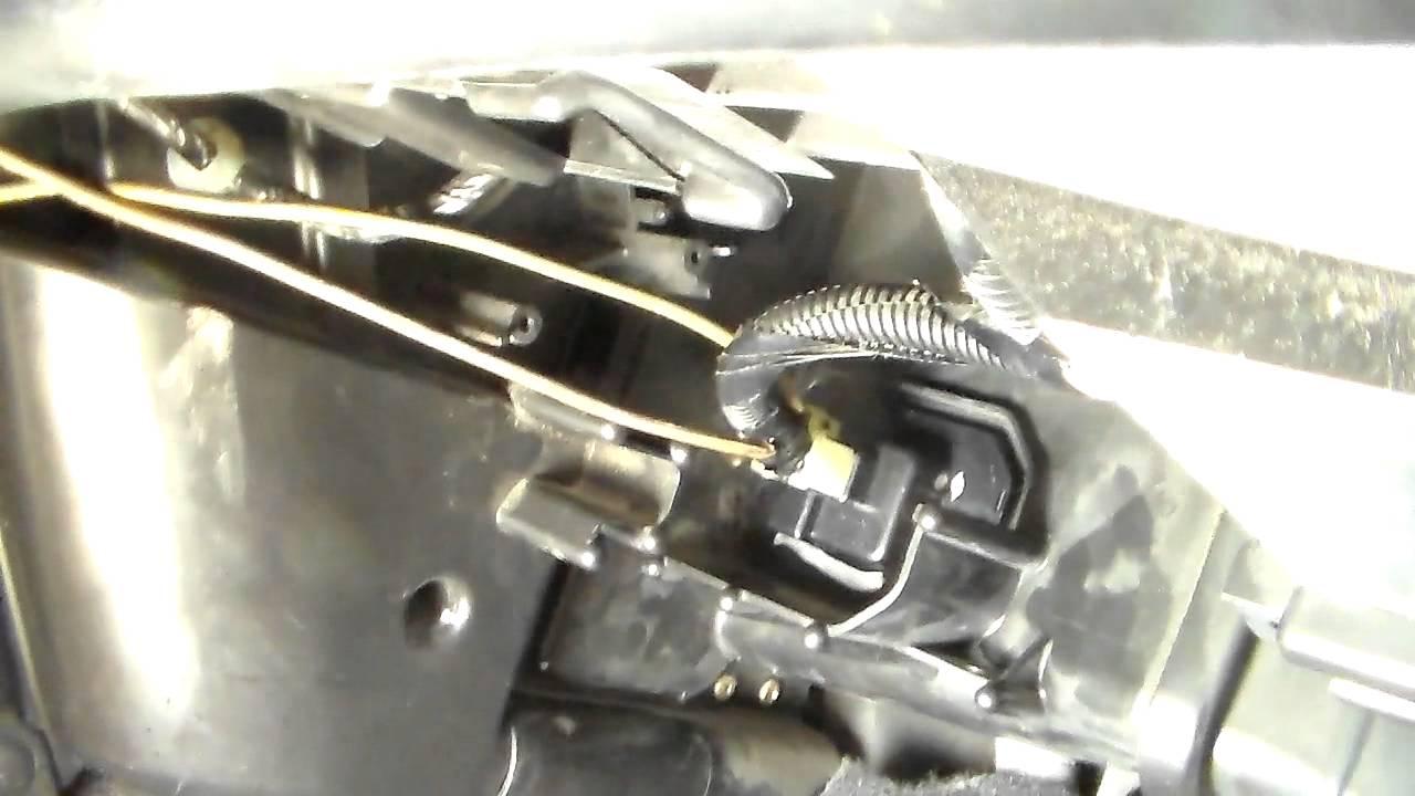 Garage Door Wiring Schematic 2003 05 Honda Accord Blower Motor Resistor Replacement Pt1
