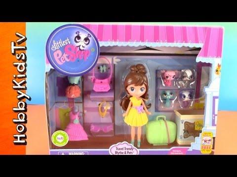 LPS, Littlest Pet Shop Blythe and Pets Set [Toy Open ...