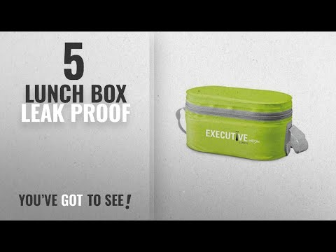 Top 10 Lunch Box Leak Proof [2018]: Milton Sth Executive Lunch Box With 3 Leakproof Containers,