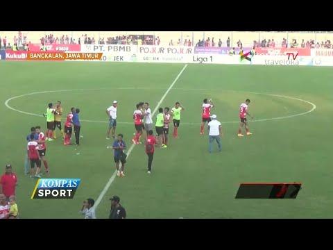 Madura United Akhiri Paruh Musim dengan Puncaki Klasemen Mp3