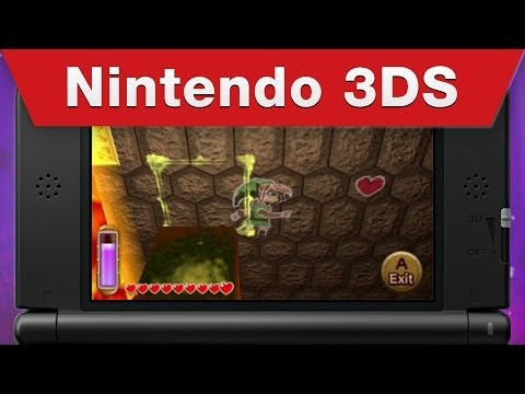 Zelda: A Link Between Worlds trailer shows item upgrades