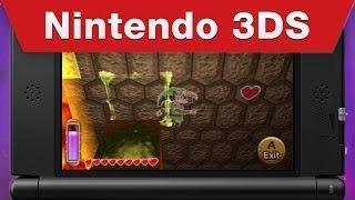 Nintendo 3DS - The Legend of Zelda: A Link Between Worlds Gameplay Trailer