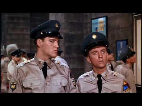 Elvis Presley - A scene from the movie G.I. Blues (1960) HD