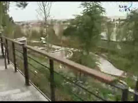 Binəqədi rayonundakı Heydər Əliyev adına park yenidənqurmadan sonra istifadəyə verilmişdir