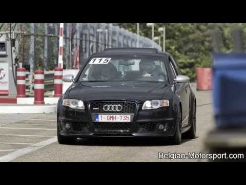 Audi RS4 B7 with loud Capristo exhaust