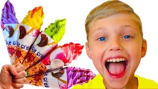 Canción infantil -  helado | Dolguniki - canciones infantiles