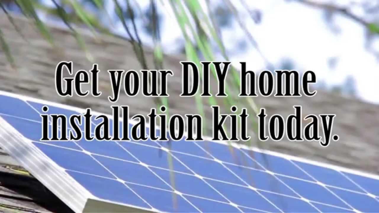 Forget sunpower solar panels use a renogy diy solar kit youtube solutioingenieria Images