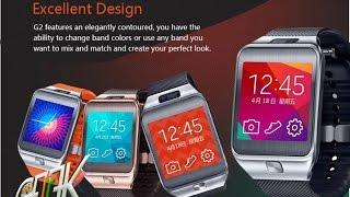 Smartwatch N°1 G2 Clone Samsung Gear 2