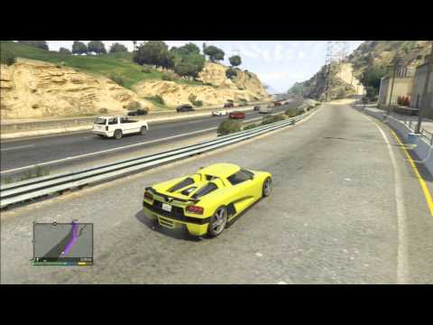 Grand Theft Auto V (PS3) - The most horrible police AI ever in GTA