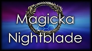 ESO Magicka Nightblade PVP : Danse Luna (M)