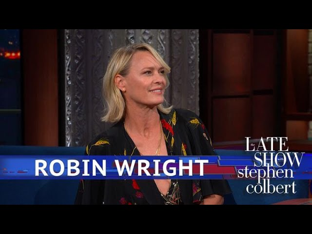 Robin Wright Stood Up For The \'House Of Cards\' Crew