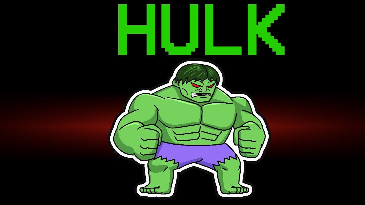 Download among us NEW HULK MODE (mods)