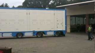 Birth of a awsome livestock trailer in Wertle, Germany