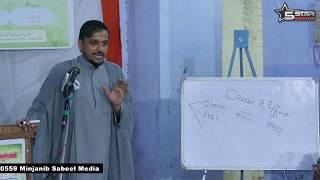 Khuda Ke Wajood Ko Kaise Pahchane (PART 1) Moulana Zameer Abbas Jafri (Qum Iran) Mumbai