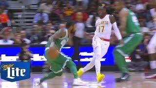 Kyrie Irving ALMOST BREAKS ANKLES!!! CRAZY HANDLES!!! Celtics vs Hawks